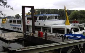 Mess- und Untersuchungsschiff der Wasser- und Wirtschaftsverwaltung Rheinland-Pfalz