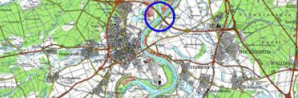 Karte Rhein