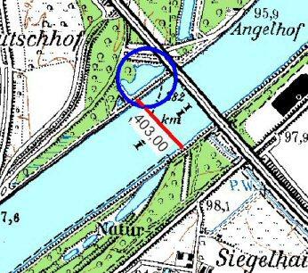 Karte Kuhbrückengewässer